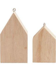 Casas, A: 4,5+6,5 cm, 30 ud/ 1 paquete