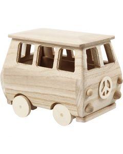Mini bus, medidas 17x10x13 cm, 1 ud
