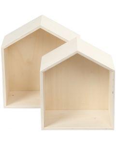 Cajas de almacenamiento, A: 22,5+25 cm, profundidad 12,5 cm, A: 19,5+22,5 cm, 2 ud/ 1 set