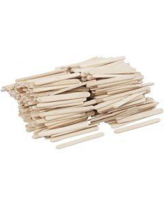 Palos de polo, L. 5,5 cm, A: 6 mm, 400 ud/ 1 paquete