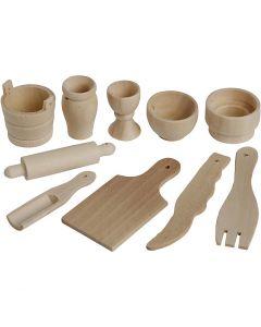 Herramientas de cocina, L. 40-60 mm, 50 ud/ 1 paquete
