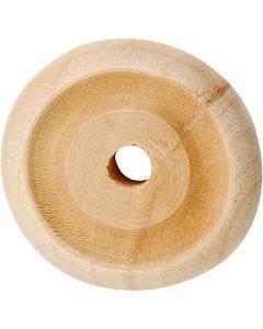 Rueda, dia: 24x8 mm, 8 ud/ 1 paquete