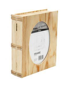 Caja Libro, medidas 21,7x18 cm, 1 ud