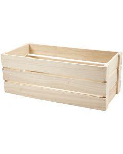 Caja de manzanas, A: 17 cm, medidas 45x20 cm, 1 ud