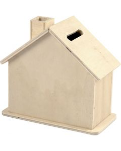Hucha, medidas 10,1x10x5,4 cm, 10 ud/ 1 paquete