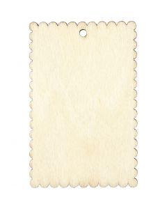 Cartel, medidas 8x5,2 cm, grosor 3 mm, 8 ud/ 1 paquete