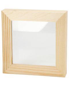 Marco 3D, profundidad 2,5 cm, medidas 12,3x12,3 cm, 1 ud