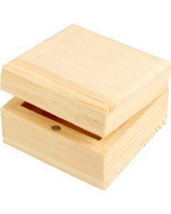 Joyero, medidas 6x6x3,5 cm, 1 ud