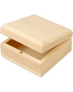 Joyero, medidas 9x9x5 cm, 8 ud/ 1 paquete