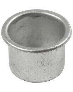 Porta velas, A: 18 mm, dia: 25 mm, medida agujero 22 mm, 12 ud/ 1 paquete