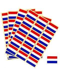 Banderas pegatinas, medidas 15x22 mm, 72 ud/ 1 paquete