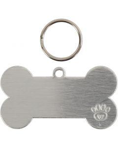 Kit para etiqueta de mascota, medidas 40 mm, 4 set/ 1 paquete