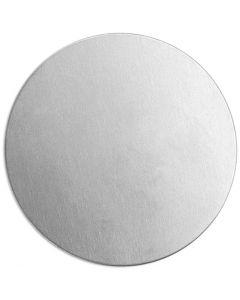 Etiqueta, Círculo, dia: 20 mm, grosor 1,3 mm, aluminio, 15 ud/ 1 paquete