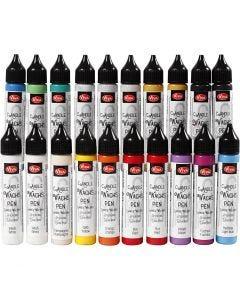 Cera líquida, surtido de colores, 20x25 ml/ 1 paquete