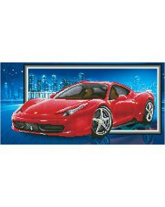 Diamond Dotz, Ferrari, medidas 40x50 cm, 1 paquete