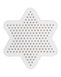 Base con clavijas, dia: 10 cm, transparente, 1 ud