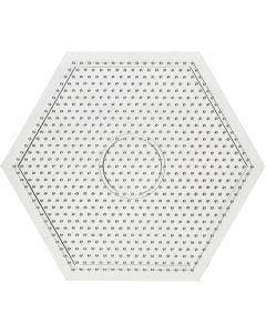 Base con clavijas, medidas 15x15 cm, 10 ud/ 1 paquete
