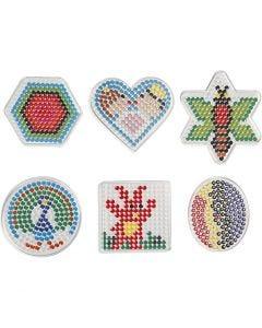 Chinchetas/marcadores, medidas 7x7,5-10,5x9,5 cm, 6 ud/ 1 paquete