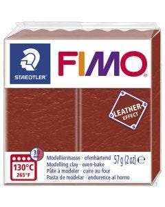 FIMO® Leather Effect, rust (749), 57 gr/ 1 paquete