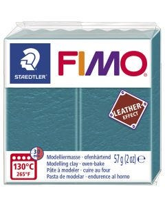 FIMO® Leather Effect, lagoon (369), 57 gr/ 1 paquete
