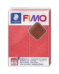 FIMO® Leather Effect, watermelon (249), 57 gr/ 1 paquete