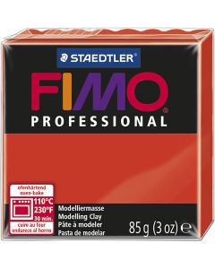 FIMO® Professional , rojo, 85 gr/ 1 paquete