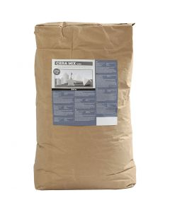 Compuesto Cera-Mix Super, blanco, 25 kg/ 1 paquete