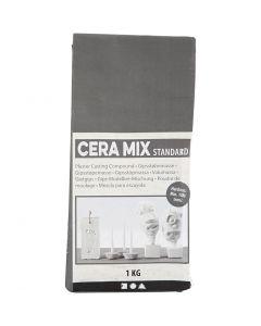 Mezcla para escayola Cera-Mix, gris claro, 1 kg