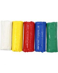 Soft Clay, A: 9,5 cm, surtido de colores, 400 gr/ 1 cubo