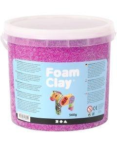 Foam Clay®, morado neón, 560 gr/ 1 cubo