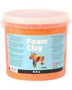 Foam Clay®, naranja neón, 560 gr/ 1 cubo