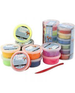 Foam Clay®, surtido de colores, 22 bote/ 1 set