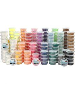 Foam Clay®, surtido de colores, 22x10 bote/ 1 paquete