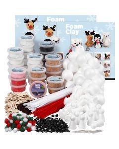 Set de construcción Foam Clay, surtido de colores, 1 set