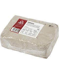 Arcilla de gres, blanquecino, 5 kg/ 1 paquete