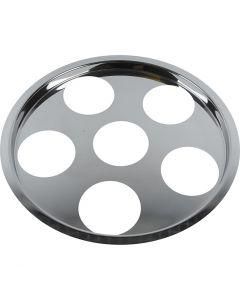 Tapa soporte con seis agujeros, 1 ud
