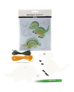 Mini Kit Creativo, Dinosaurio, 1 set