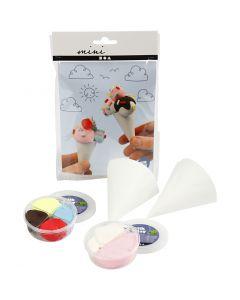 Mini Kit Creativo, conos de helado, 1 set