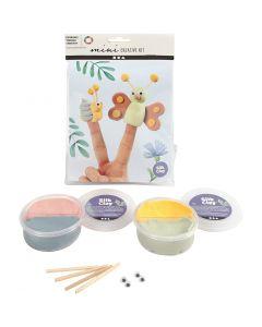 Mini kit creativo, Muñecas de dedos, 1 set