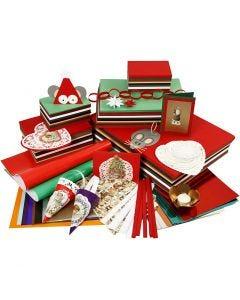 Caja de manualidades Navidad, surtido de colores, 1 set