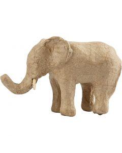 Elefante, A: 9 cm, L. 13 cm, 1 ud