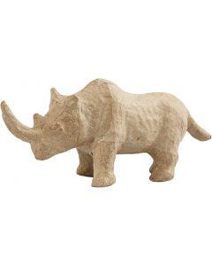 Rinoceronte, A: 7,5 cm, L. 18 cm, 1 ud