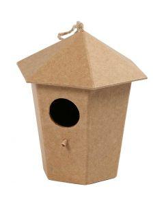 Casa de pájaro, A: 11 cm, medidas 11x9 cm, 1 ud