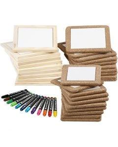Pintar posavasos, colores estándar, colores adicionales, 1 set, 30 ud