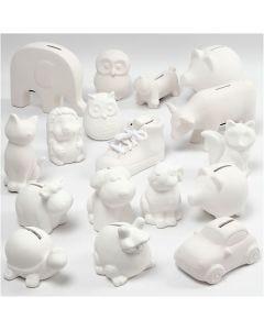 Huchas, blanco, 106 ud/ 1 caja