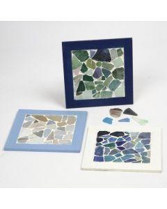 Un marco para collage con mosaico