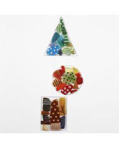 Rotuladores para cristal y porcelana sobre decoraciones colgantes de cristal