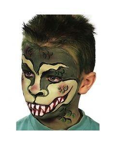Inspiración de cara pintada