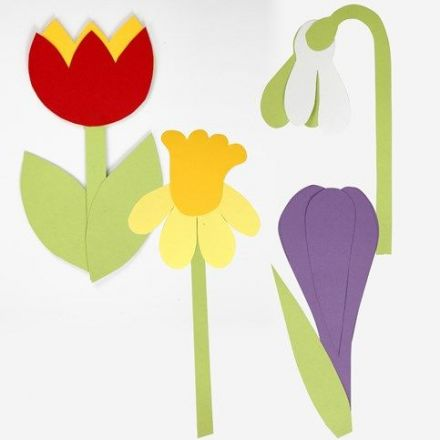 Flowers from Card using flexible Template