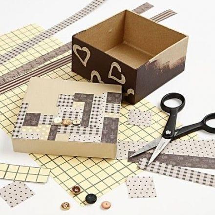 Weaving Paper Strips